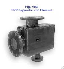 Figure 7040 FRP Separator and Element