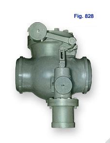 Figure 828 Check Valve with disc weight