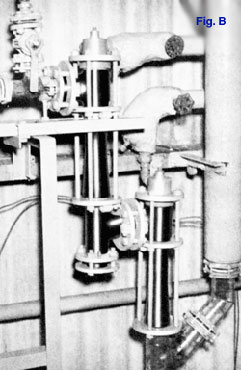 Two-stage Non-Condensing Ejectors permitting operation of a pump from a central control panel